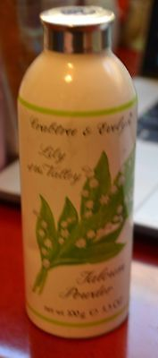 Lily of the Valley Crabtree & Evelyn Talcum Powder Vintage 100 g 3.5 oz Muguet