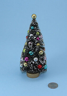 1/12 Scale: FABULOUS Dollhouse Miniature Decorated Christmas Tree NEW #D2513-351