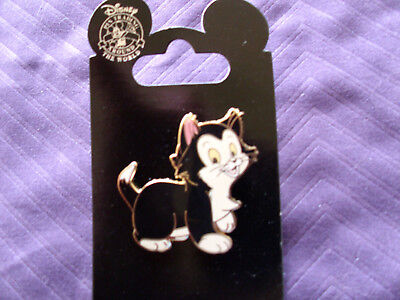 Disney * FIGARO * New on Card Pinocchio Movie Cat Character Trading Pin