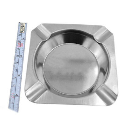 Ashtray Cigarette Cafe Home Restaurants Table Ash Tray Stainless Steel Popular D
