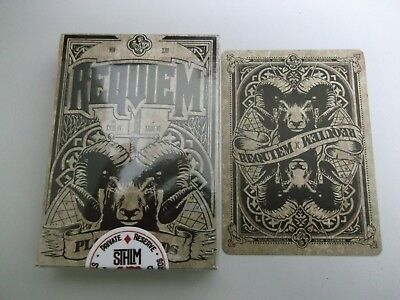 "SUPERB PACK ""Bicycle Type - Requiem (SUPERB)"" Pack of Playing Cards"