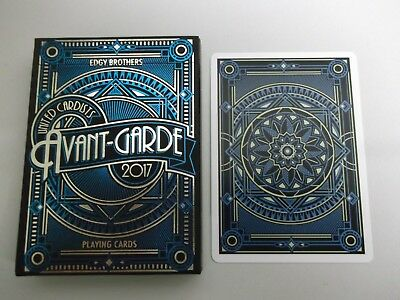 "SUPERB PACK ""Bicycle Type - Avant-Garde (Blue) (SUPERB)"" Pack of Playing Cards"