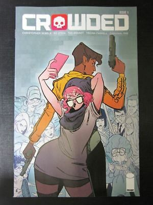 Crowded #1 - August 2018 - Image Comic # 1I21