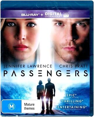 "CLEARANCE!! ""PASSENGERS"" Blu-ray + Digital UV - Region [B] NEW"
