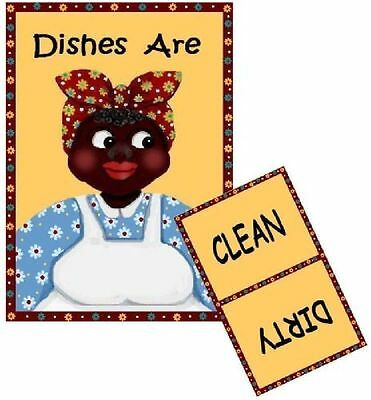 MAMMY Dishwasher MAGNET #4 (Clean/Dirty)  SHIP FREE!