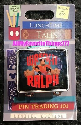 Disney Pin of the Month Lunch Time Wreck It Ralph LE 1500 Preorder Sept 2018