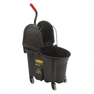 Rubbermaid WaveBrake 35-Quart Bucket/Wringer Combinations