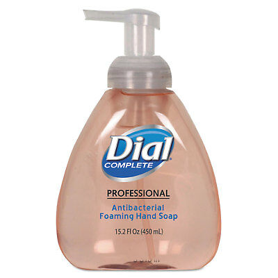 Dial Professional Antimicrobial Foaming Hand Soap, Original Scent, 15.2oz,