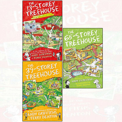 Treehouse Books Series By Andy Griffiths 3 Books Collection Set 13 39 65 Storey