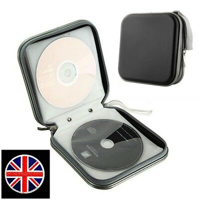Car CD DVD 40 Disc Disk Case Sleeve Wallet Holder Storage Portable Plastic Bag
