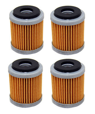 Factory Spec brand Oil Filters - 4 Pack - Yamaha WR250F YZ250F WR450F YZ450F