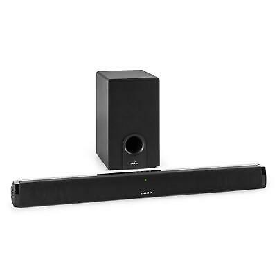 Soundbar Home Theater TV Subwoofer Bluetooth AUX 60W RMS Digitale Ottico Audio
