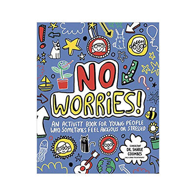 No Worries Mindful Kids by Katie Abey An activity book for young people NEW PB