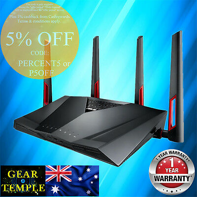 NEW OEM ASUS RT-AC88U AC3100 Dual Band Wireless Router WIFI MU-MIMO AIMESH