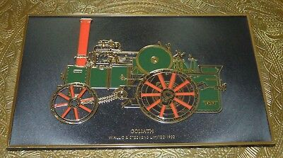 GOLIATH Wallis & Steevens Limited 1902,produced FRANK DOWN, selten!