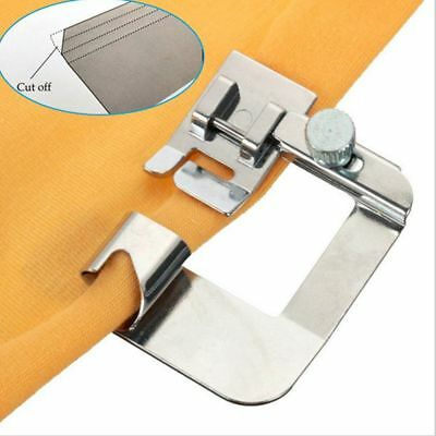Great 3Pcs Domestic Hemming Cloth Strip Presser Foot Sewing Machine Rolled Hem