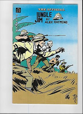 The Official Jungle Jim By Alex Raymond #8 ( Pioneer January 1989 )