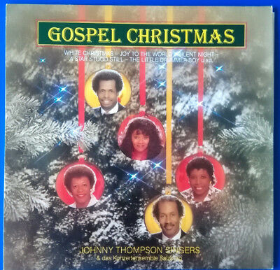 The Johnny Thompson Singers: Gospel Christmas, LP 1986