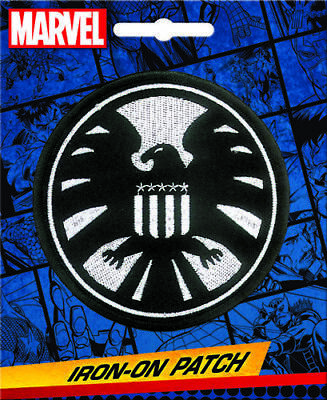 Marvel Comics Iron On Patch: SHIELD (S.H.I.E.L.D.) Logo