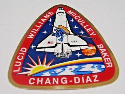 """NASA Space Shuttle Mission STS- 34  Shuttle Atlantis 5th Flight 4"""" Decal Sticker"""