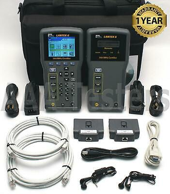 IDEAL LANTEK 6 Cat5e Cat6 Cable Tester Certfier LANTEK6