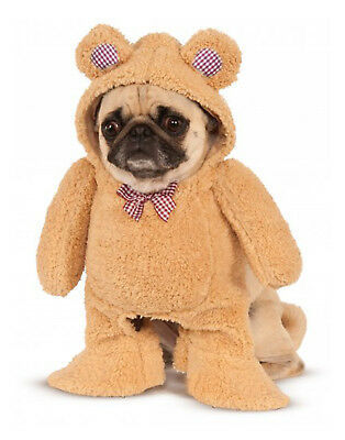 Pet Costume Plush Walking Teddy Bear Dog Cat Costume