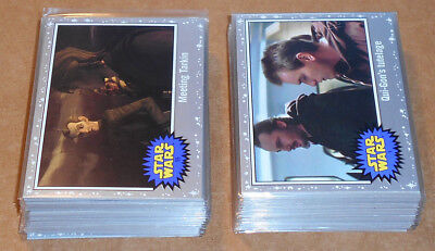 Star Wars Journey to the Last Jedi ~ SILVER PARALLEL BASE CARD LOT (63) no dupes