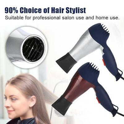 Mini Hair Blow Dryer Travel Hair Dryer Compact Blower Foldable 1500W Hot Wind DH