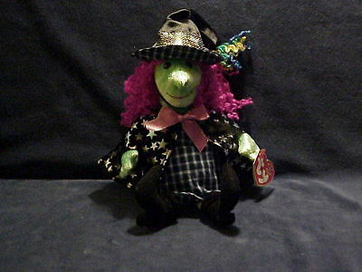 2001 Halloween Ty Beanie Babies Collection Witch Scary Retired Born October 2000