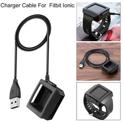 For Fitbit Ionic Smart Watch USB Charging Dock Cradle Fast Charger Cable Cord