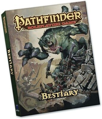 Pathfinder Roleplaying Game RPG Pocket Edition Bestiary Rulebook PZO1112-PE