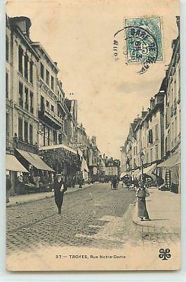8743 - Troyes - Rue Notre Dame