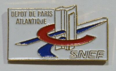 Pins Sncf Train Tgv Depot De Paris Atlantique