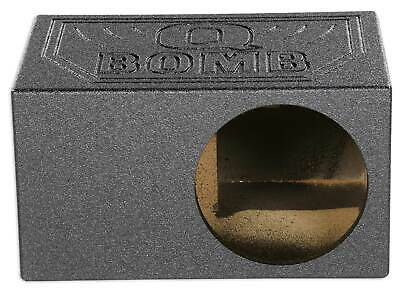 "Rockville RQB10 Single 10"" Vented Ported Subwoofer Sub Box Enclosure 1.4 cu ft"