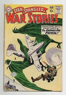 DC Comics Star Spangled War Stories #95 Silver Age
