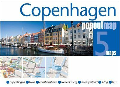 Copenhagen PopOut Map by Popout Maps 9781845879556 (Sheet map, folded, 2013)