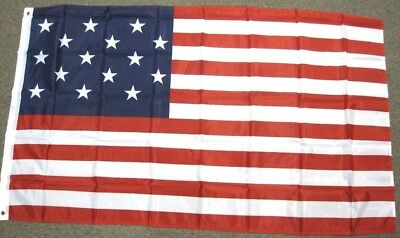 3'x5' USA 15 Stars Flag Old Glory Star Spangled Banner American Patriotic US 3x5