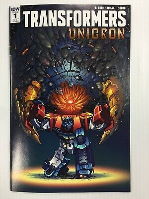 Transformers Unicron #1 RI-A 1:25 Retailer Incentive Andrew Griffith Cover A