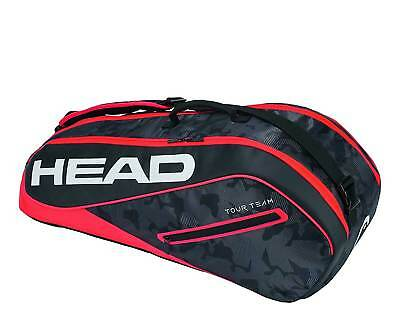 Head Tour Team 6R Combi - Tennistasche schwarz/rot