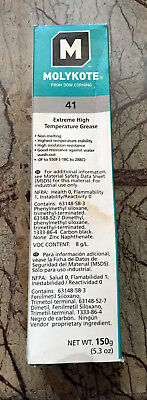 Dow Corning Molykote 41 Extreme High Temperature Bearing Grease 150g(5.3oz) Tube