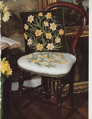 Daffodils and Tulips Beth Russell Needlework Tapestry Needlepoint Charts