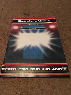 Ford 10 Series Original Tractor Manual Original And New!