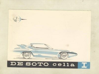 1959 DeSoto Cella I Concept Car Brochure wz6238