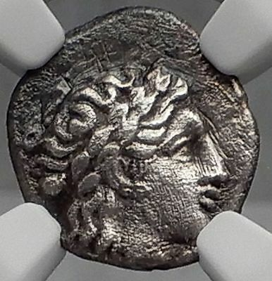 KIOS Cius Bithynia 350BC Apollo Galley Ancient Silver Greek Coin NGC i59862