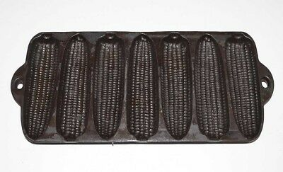 Vintage 1920 Wagner Ware Cast Iron Corn Bread Pan - Junior Krusty Korn Kobs 1319