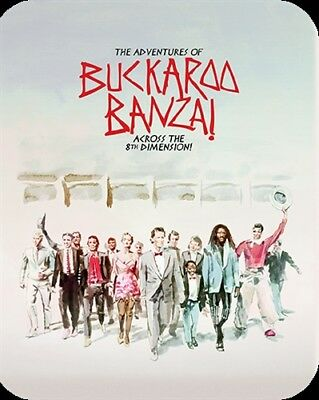 THE ADVENTURES OF BUCKAROO BANZAI ACROSS THE 8TH DIMENSION New Blu-ray Steelbook