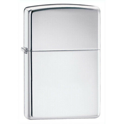 Zippo 250 Classic High Polish Chrome Windproof Pocket Lighter