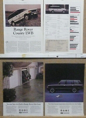 1993 Range Rover County LWB Ad Lot (2) plus Road Test