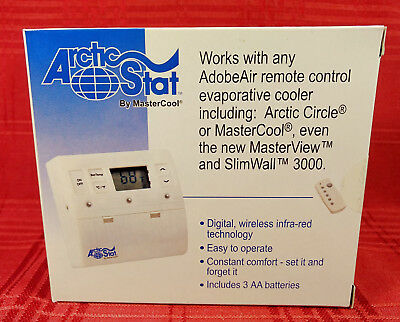 Arctic Stat by MasterCool Remote Control Evaporative Cooler Thermostat RCT1000