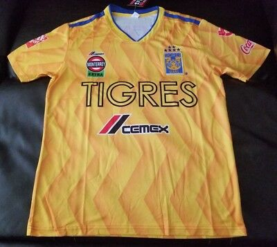 2018-2019 TIGRES UANL team signed ADIDAS home jersey with REAL PROOF ... 1169d07d7